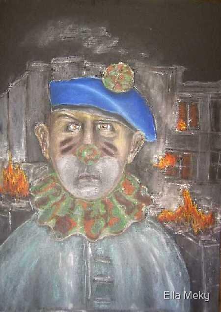 UNO - Clown by Ella Meky