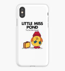 Little Miss Pond iPhone Case/Skin
