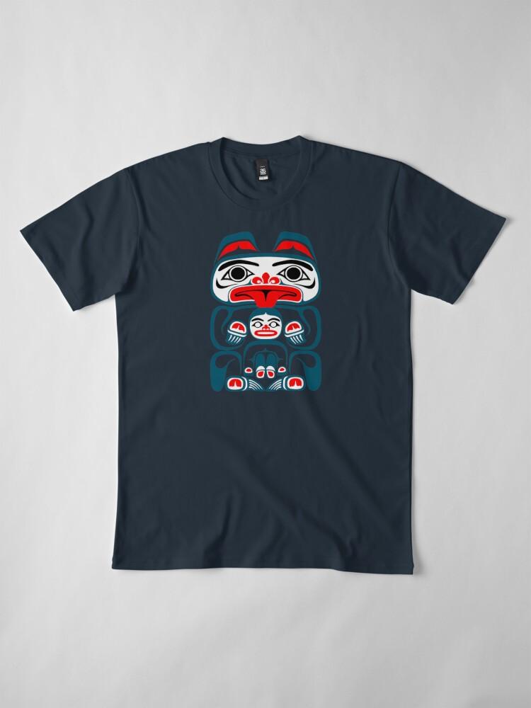 Alternate view of HAIDA BEAR 4 Premium T-Shirt