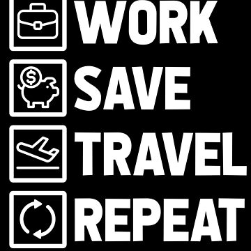 World Trip Work and Travel Life Section by GeschenkIdee