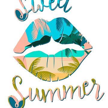 Sweet Summer Great Fashion T-Shirt by andalit