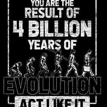 Evolution result by GeschenkIdee