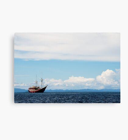 The Seven Seas Canvas Print