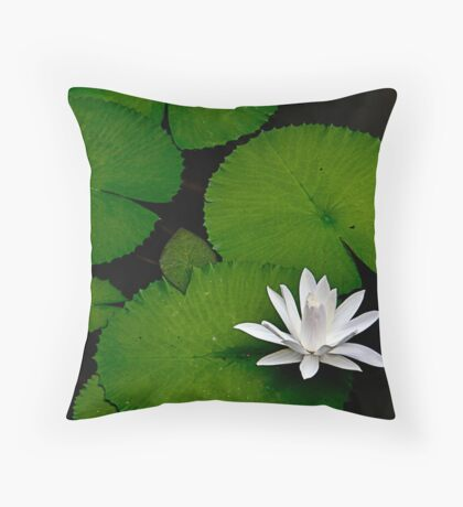 Lonely Beauty Throw Pillow