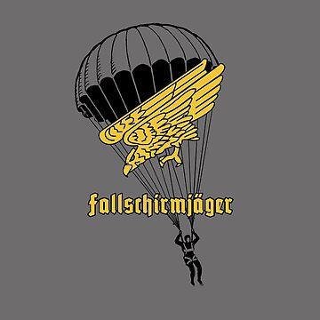 German paratroops fallschirmjager by bumblethebee