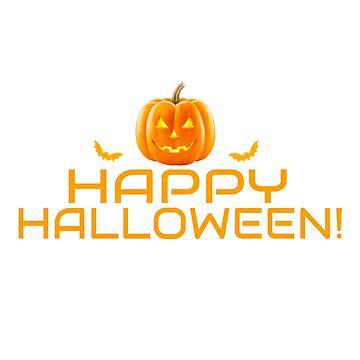 Happy Halloween Pumpkin by CreativeStrike