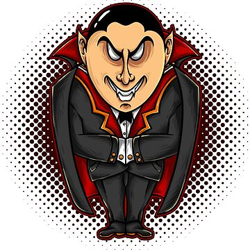 Vampire Count Dracula Halloween Great Fashion T-Shirt by andalit