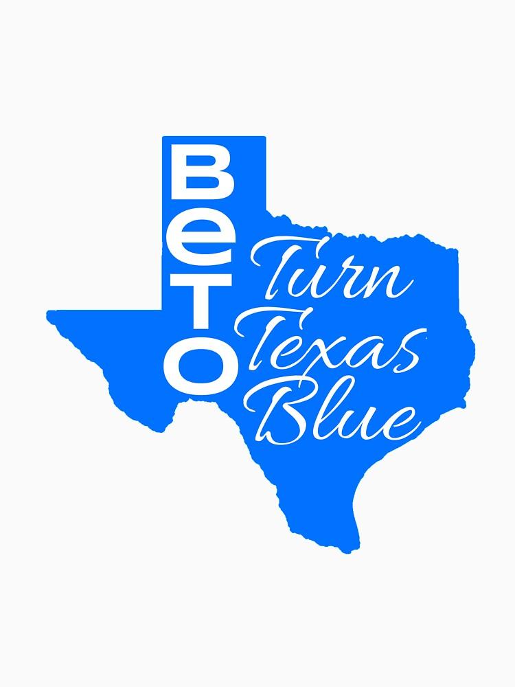 Beto Turn Texas Blue Senate Midterm Election by CreativeStrike