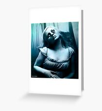 so a vampire can cry updated Greeting Card