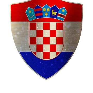 Croatia Flag Shield by ockshirts