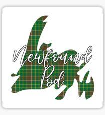 NewfoundPod - A Bite Sized Podcast About Newfoundland Sticker