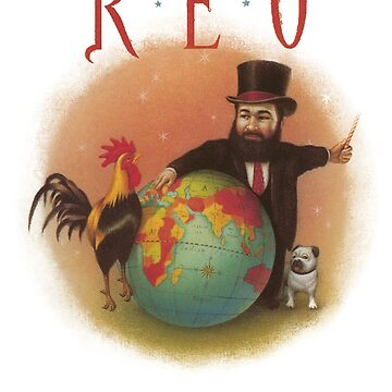 Reo Speedwagon - The Earth, A Small man, His Dog And a Chicken by tomastich85