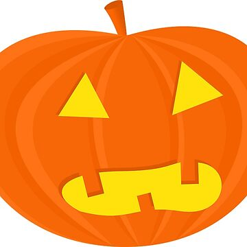 Halloween Shocked Pumpkin by MartinV96