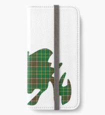 NewfoundPod - Plain Newfoundland Tartan Map iPhone Wallet/Case/Skin