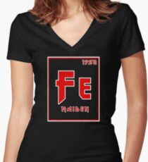 Fe Maiden Women's Fitted V-Neck T-Shirt