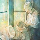 Grandma Braids by JennyArmitage