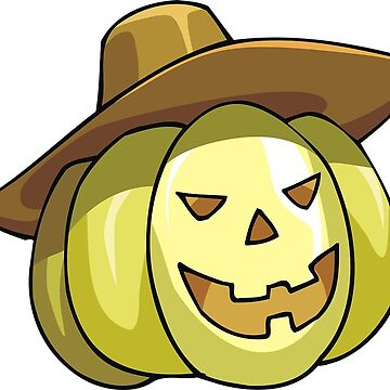 Halloween Pumpkin with Hat by MartinV96