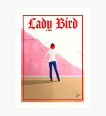 Lady Bird Poster Art Print