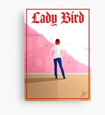 Lady Bird Poster Canvas Print