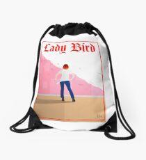 Lady Bird Poster Drawstring Bag