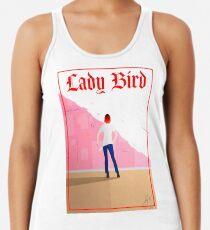 Lady Bird Poster Racerback Tank Top