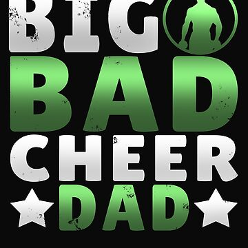 Big Dad Cheer Dad Father's Day Gift by 64thMixUp