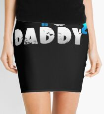 Daddy of 2 Father's Day Gift Mini Skirt
