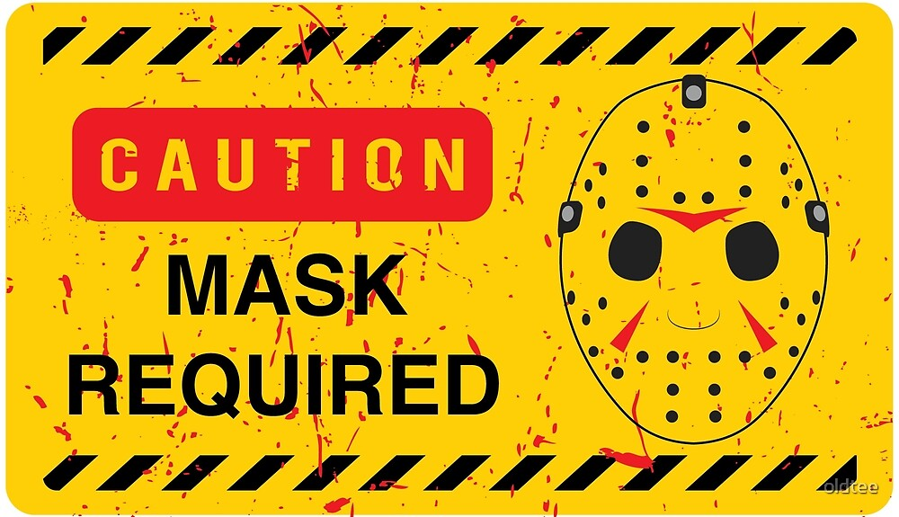 Caution Jason Land by oldtee