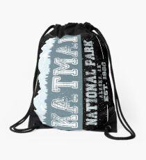 Katmai, Alaska National Park Drawstring Bag
