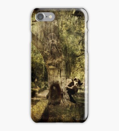 The Old Goat Tree (poetry & music) iPhone Case/Skin