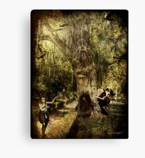 The Old Goat Tree (poetry & music) Canvas Print