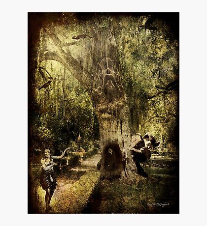The Old Goat Tree (poetry & music) Photographic Print