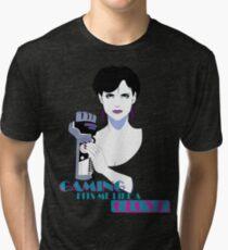 Retro PowerGlove Gamer Tri-blend T-Shirt