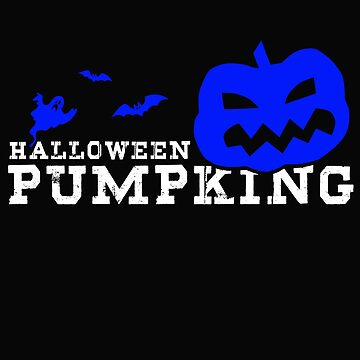 Halloween Pumpking Funny Blue Pumpkin by design2try