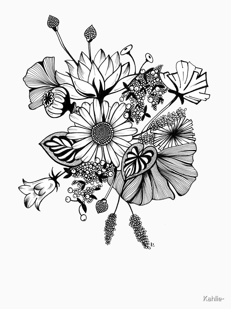 Flower power @Kahlie by Kahlie-