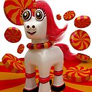 Red Hot Unicorn by apadilladesign
