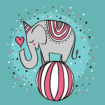 Circus elephant  by AmineSecrets