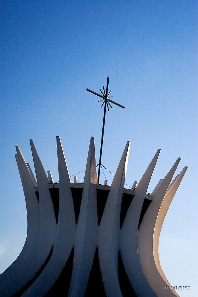 metropolitan catedral of brasilia by momarch