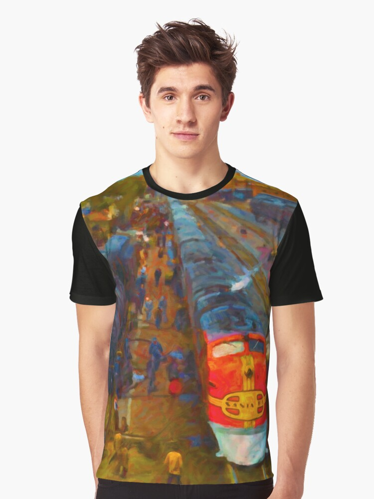 Super Chief Fuel Stop Graphic T-Shirt Front