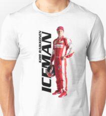 Kimi Raikkonen Iceman Unisex T-Shirt