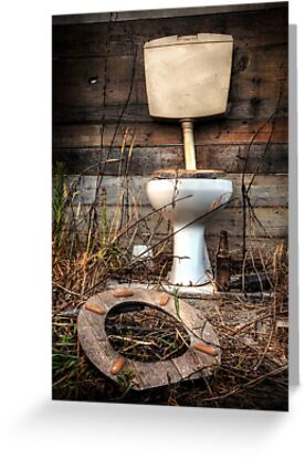 Atmospheric Toilet Cabin by ccaetano