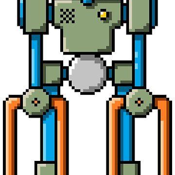 Pixel Robot 134 by Vampireslug