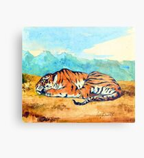 Eugene Delacroix Royal Tiger Metal Print