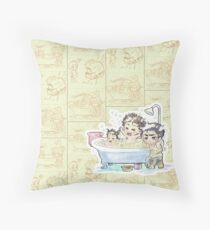 Bubbles Time - MK-II Throw Pillow