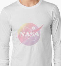 Pastell-Nasa Langarmshirt
