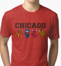Chicago Dancing Bears Tri-blend T-Shirt