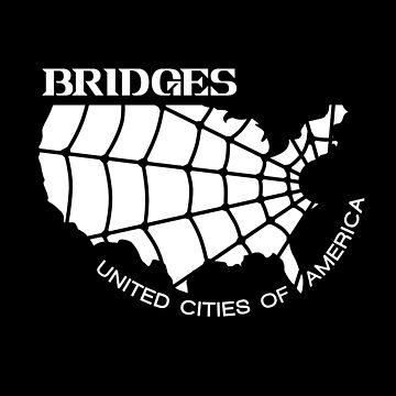Death Stranding Bridges Logo by AlexanderGorham