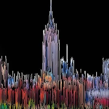 Abstract Empire State Building  by palinchak