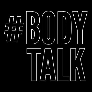 Let your body talk by dwf95