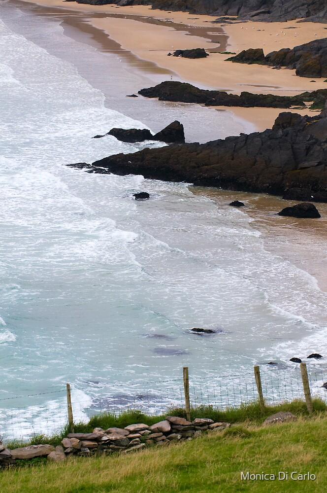 Achill Island beach, Ireland by Monica Di Carlo